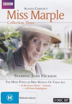 Agatha Christie: Miss Marple - Collection 3 (At Bertram's Hotel / Nemesis / 4.50 From Paddington)