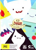 Adventure Time: Seasons 1 - 4 Boxset