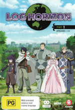 Log Horizon: Part 1 (Episodes 1-13)