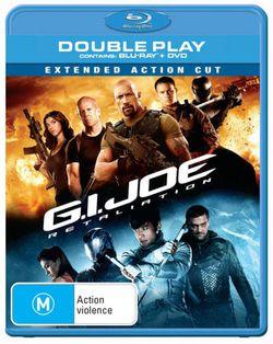 G.I. Joe: Retaliation (2013) (Blu-ray/DVD) (Extended Action Cut)