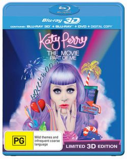 Katy Perry: Part of Me (3D Blu-ray/Blu-ray) (2 Discs)