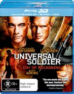Universal Soldier 4: Day of Reckoning (3D Blu-ray/Blu-ray/DVD) (2 Discs)