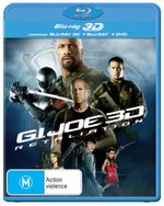 G.I. Joe: Retaliation (2013) (3D Blu-ray/Blu-ray/DVD) (3 Discs)