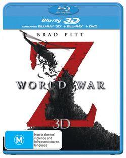 World War Z (3D Blu-ray/Blu-ray/DVD)