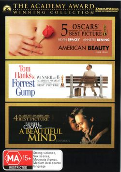 A Beautiful Mind / American Beauty / Forrest Gump