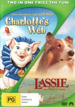 Charlotte's Web (Animated) / Lassie (1994)