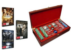 Deadwood: Complete Collection with Poker Set (Seasons 1 -3)