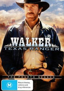Walker, Texas Ranger: Season 4 (7 Discs)