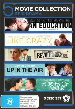 An Education /  Forces of Nature / Like Crazy / Revolutionary Road / Up in the Air (Epic Drama 5 Movies)