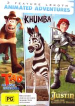 Tad the Lost Explorer / Khumba / Justin and the Knights of Valour