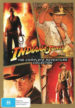 Indiana Jones: The Complete Adventure Collection:  (Raiders of the Lost Ark/Temple of Doom/Last Crusade/And the Kingdom of the Crystal Skull)