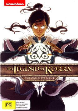 Legend of Korra: The Complete Series (Books 1 - 4)