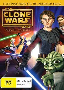 Star Wars: The Clone Wars - Season 1 - Volume 1