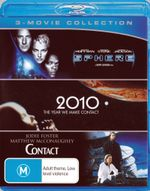 2010: The Year We Made Contact / Contact / Sphere (Blu-ray Triple)