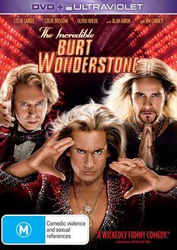 The Incredible Burt Wonderstone (DVD/UltraViolet)