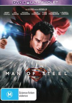Man of Steel (2013) (DVD/UV)