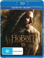 The Hobbit: The Desolation of Smaug (3D Blu-ray/Blu-ray)