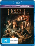 The Hobbit: The Desolation of Smaug (Blu-ray/DVD/UV)