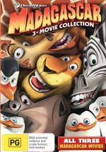 Madagascar Trilogy (3 Discs)
