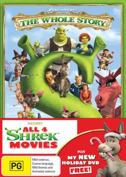 Shrek: The Whole Story (Shrek 1-4) (inc Shrek Forever After / Donkey's Christmas Shrektacular)