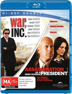 Assassination of a High School President / War, Inc (2 Discs) (Blu-ray Double)