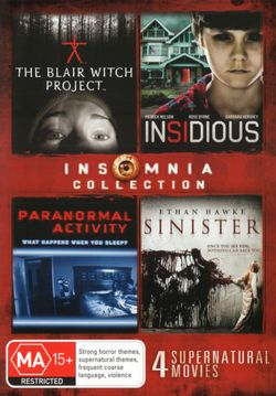 Insomnia Collection (The Blair Witch Project / Insidious / Paranormal Activity / Sinister)