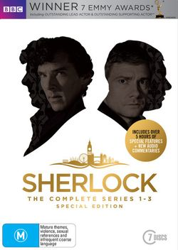 Sherlock: Series 1 - 3  (Special Edition)