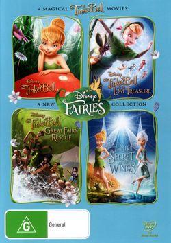 Tinker Bell  Quad Pack (4 Discs)