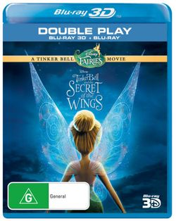 Tinker Bell and the Secret of the Wings (3D/BD)