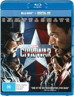 Captain America: Civil War (Blu-ray/Digital Copy)