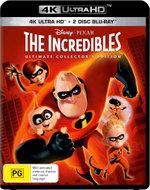 The Incredibles (4K Blu-ray/Blu-ray/Blu-ray Bonus Disc)