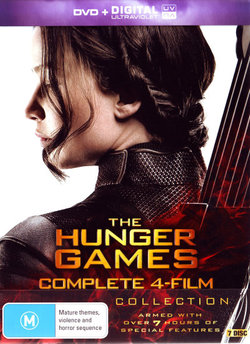 The Hunger Games: Complete 4-Film Collection (The Hunger Games/The Hunger Games: Catching Fire/The Hunger Games: Mockingjay Part 1 & Part 2) (DVD/UV)