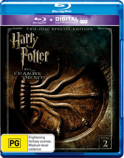 Harry Potter and the Chamber of Secrets (Year 2) (Two-Disc Special Edition) (Blu-ray/UV)