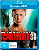 Tomb Raider 3D (2018) (3D Blu-ray/Blu-ray)