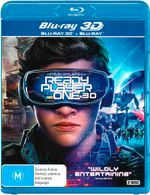 Ready Player One 3D (3D Blu-ray/Blu-ray)