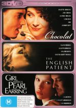 Chocolat / The English Patient / Girl With A Pearl Earring (3 Disc Set)