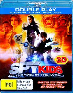 Spy Kids 4 (3D Blu-ray/Blu-ray/Digital Copy)