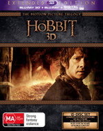 The Hobbit 3D: The Motion Picture Trilogy (Extended Edition) (Blu-ray 3D/Blu-ray/UV)