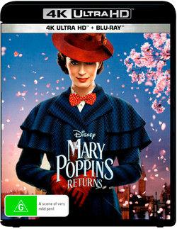 Mary Poppins Returns (4K UHD/Blu-ray)