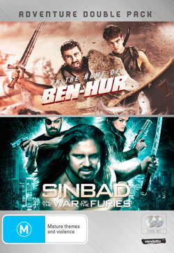 Adventure Double Pack: (In the Name of Ben-Hur / Sinbad and the War of the Furies)