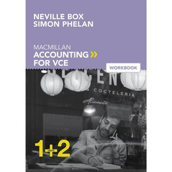 Macmillan Accounting VCE Units 1&2 Value Bundle (Student Book + Digital+ Workbook)