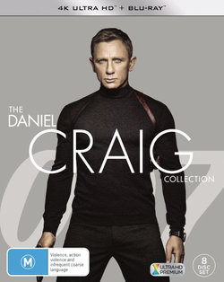 The Daniel Craig Collection: (Casino Royale / Quantum of Solace / Skyfall / Spectre) (4K UHD / Blu-ray)