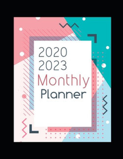 2020-2023 Monthly Planner