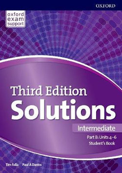 Solutions: Intermediate: Student's Book B Units 4-6