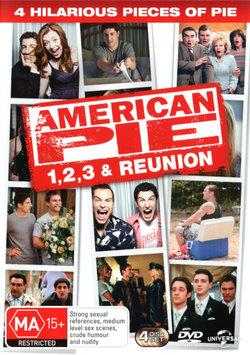 American Pie American Pie 2 American Pie 3 The Wedding American Pie 8 American Reunion 2012 Angus Robertson
