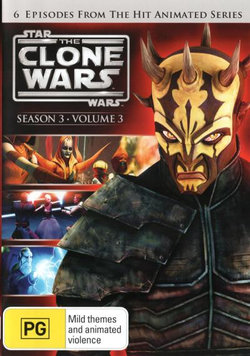 Star Wars: The Clone Wars - Season 3 - Volume 3