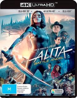 Alita: Battle Angel (4K UHD/Blu-ray 3D/Blu-ray)