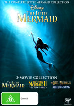 The Little Mermaid: 3-Movie Collection (The Little Mermaid / The Little Mermaid II: Return to the Sea / The Little Mermaid: Ariel's Beginning)