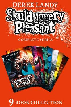 Skulduggery Pleasant - Books 1-9