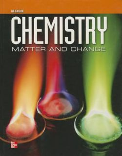 Chemistry Matter And Change Student Edition